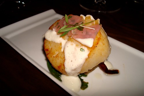 Seared Diver Scallop at Beso