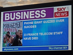 Sky News billboard screen