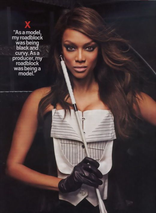 supermodel tyra banks