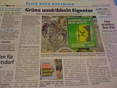 Ruhr Nachrichten: Grüne umdribbeln Eigentor