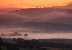 Mist at dawn (Through Bri`s Lens) Tags: sussex steyning bramber weald adurvalley trulieghhill fbdg mostbeautifulpictures