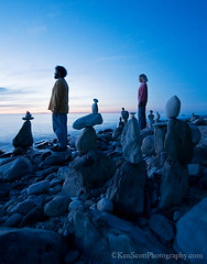 Snoopy and the gang  . . . II (Ken Scott) Tags: usa selfportrait beach magazine stones michigan lakemichigan greatlakes selfie leelanau kenscott baylifenorth kenscottphotography kenscottphotographycom