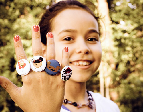 Button Rings - Purebuttons
