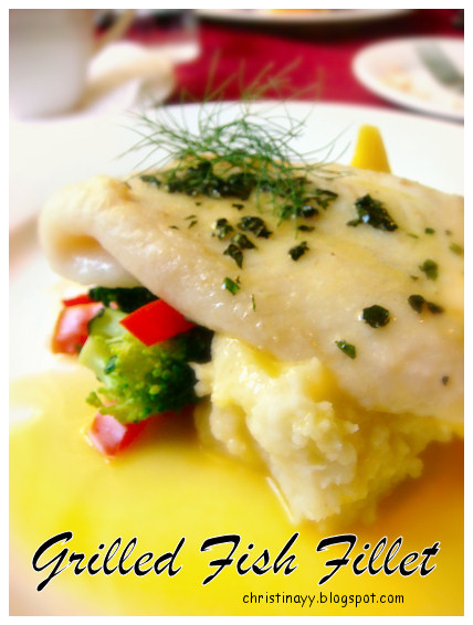 Angelo's House Restaurant Toowoomba: Grilled Fillet of Fish