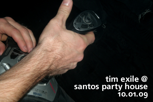 Tim Exile at Santos Party House