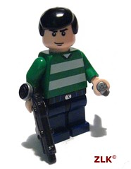 New Siggie (zelegoking) Tags: lego fig prototype sig brickarms zlk