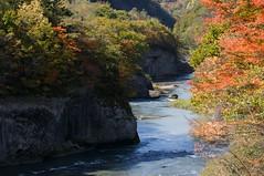 初秋の竜仙峡