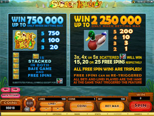 free Summer Holiday free spins