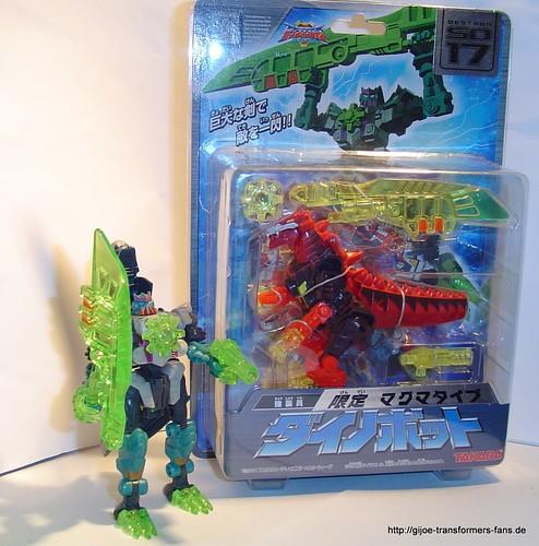 Dinobot Magma-Type Galaxy-Force Transformers 001