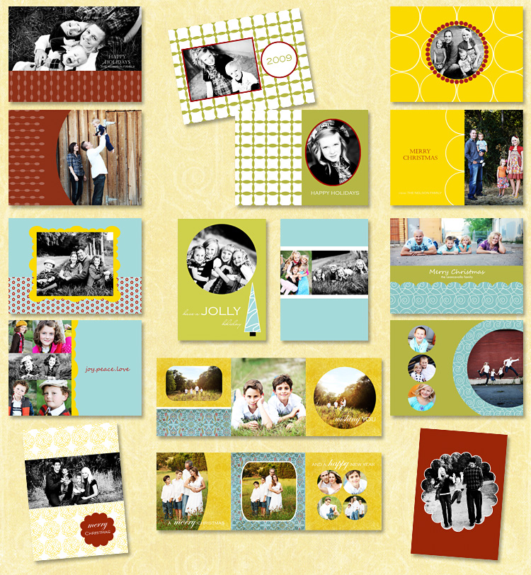 2009 Card Samples