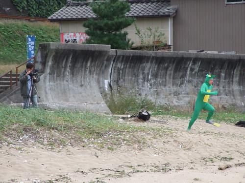 笹川流れに河童(カッパ)現る!?の巻