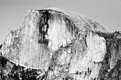 Solution (Thomas Hawk) Tags: bw yosemite halfdome natureshand