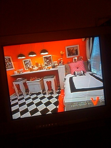 Room my mom worked on for extreme makeover