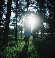 [フリー画像] [人物写真] [女性ポートレイト] [森林/山林]        [フリー素材]