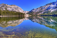 Tenaya Lake (Paul Gaither Photography) Tags: california travel lake reflections landscape lakes yosemite yosemitenationalpark mountainlake hdr hdri tenayalake tiogaroad photomatix yosemitehighcountry lakereflections d80 mountainreflections nikond80 flickraward mountainandwater dragondaggeraward