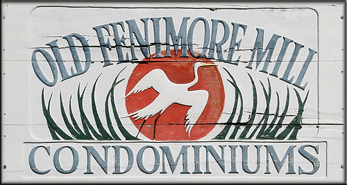 Old Fenimore Mill Condominiums Sign