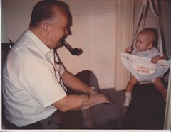 with granddaddy 8 Dec 1970
