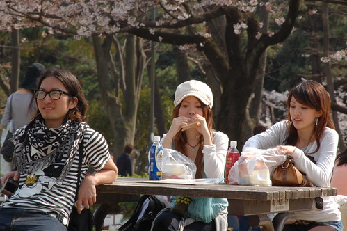 花見 in名城公園