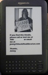 """""""Thank you"""" in advance for returning my Kindle (should I ever lose it)"""