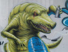 croco-loco (Pixeljuice23) Tags: italy streetart graffiti treviso pixeljuice pixeljuice23 crocodilewriter