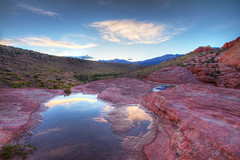 Red Rock Canyon at Sunset. (dgmiami) Tags: redrockcanyon usa landscape lasvegas nevada