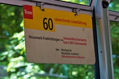 Sign onboard a 1969 Berlin 3006 tram at Crich Tramway Museum (chrisgault) Tags: road 1969 museum train germany district derbyshire tram peak tourist national tramway attraction crich berlin3006