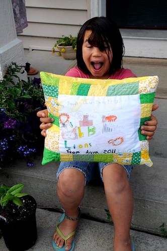 Anya's Pillow