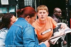 Outrage 1/3 Rhoda Crosbie Story (Anthony Cronin) Tags: city ireland analog superia protest cancer state irelanddublin inner street fuji irishlife street social 200 mother dublinlife council council deprivation dublin single dublinirish housing poverty flat streetsdublin dublinliving dunne failure tpastreet dublinirelandnikonf8050mmf14d24mmf28danthonycroninallrightsreservedirishphotographystreetsdublinstreetphotographystreetsofdublin rhoda crosbie outrage photangoirl