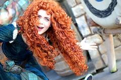 Brave (Banana Man is my Spirit Animal) Tags: princess disneyland disney merida pixar brave pixarprincess