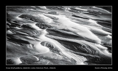 Snow drift patterns, Waterton Lakes National Park, Alberta (kgogrady) Tags: infrared landscape patterns snowdrift watertonlakesnationalpark winter waterton alberta canada blackandwhite blackwhite canadianrockies cans2s afternoon 2016 bw fujinon canadiannationalparks ab fujifilmxpro1 fujifilm parkscanada rockymountains westerncanada picturesofalberta photosofalberta xpro1 xf18135mmf3556oiswr southernalberta rocky rockies snow windy snowy