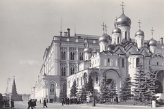 Moscow The Kremlin view of the Grand Cathedral of Annumciation (dickjan thuis) Tags: moskow moskva kremlin view grand cathedral annumciation ansichtkaart postcard