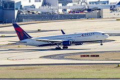 Delta Air Lines Boeing 767-332(ER) N1612T (MIDEXJET (Thank you for over 1 million views!)) Tags: atlanta atlantageorgia atlantahartsfield atlantahartsfieldjackson hartsfieldinternational hartsfieldjacksoninternational katl atl georgia unitedstatesofamerica deltaairlinesboeing767332er n1612t deltaairlines boeing767332er boeing boeing737332 boeing767300 boeing767 767 767300 767332