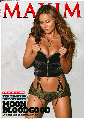 Moon Bloodgood (from the new