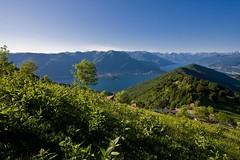 Prato Vista Lago (Roveclimb) Tags: mountain lake como alps lago prato montagna comolake lagodicomo sanprimo triangololariano rifugiomartina picet