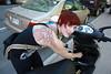 Montréal en moped Catherine m'a fait
