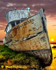 """IMG_8359 ThePtReyesWSunset2 16""""X20"""" (a02toyota) Tags: sunset boat rust ship decay sandbar pointofview musicfriends ptreyesca purpleclouds cherryontop travellingwithoutmoving beautifulphoto theoldport magictime beachedboat abandonedship abigfave supershots dramaticcolor peaceaward blueribbonphotography beachedship heartawards theunforgettablepictures goldstaraward flickrpointofview theptreyes photossansfrontières ddsnet damniwishidtakenthat a02toyota ©markshepleycom goldenpicturesworth1000words photographicimagequest atomicaward bestofdamniwishidtakenthat platinumpeaceaward allrightsreserved©2009a02toyota theartlair artmeetsphotography crimpsonsky thebestofcengizsqueezeme2groups recoilx thebestofcengizsqueezeme2groupsadmininvite imaginātio sailthesevenseasadmininviteonly ~theunforgettablephotographer~adminmodinviteonly~ searchthebestnew"""