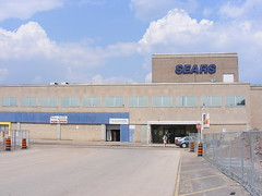 Centre Mall 3 (Sean_Marshall) Tags: ontario sears hamilton greyfield deadmall labelscar centremall consumersdistributing