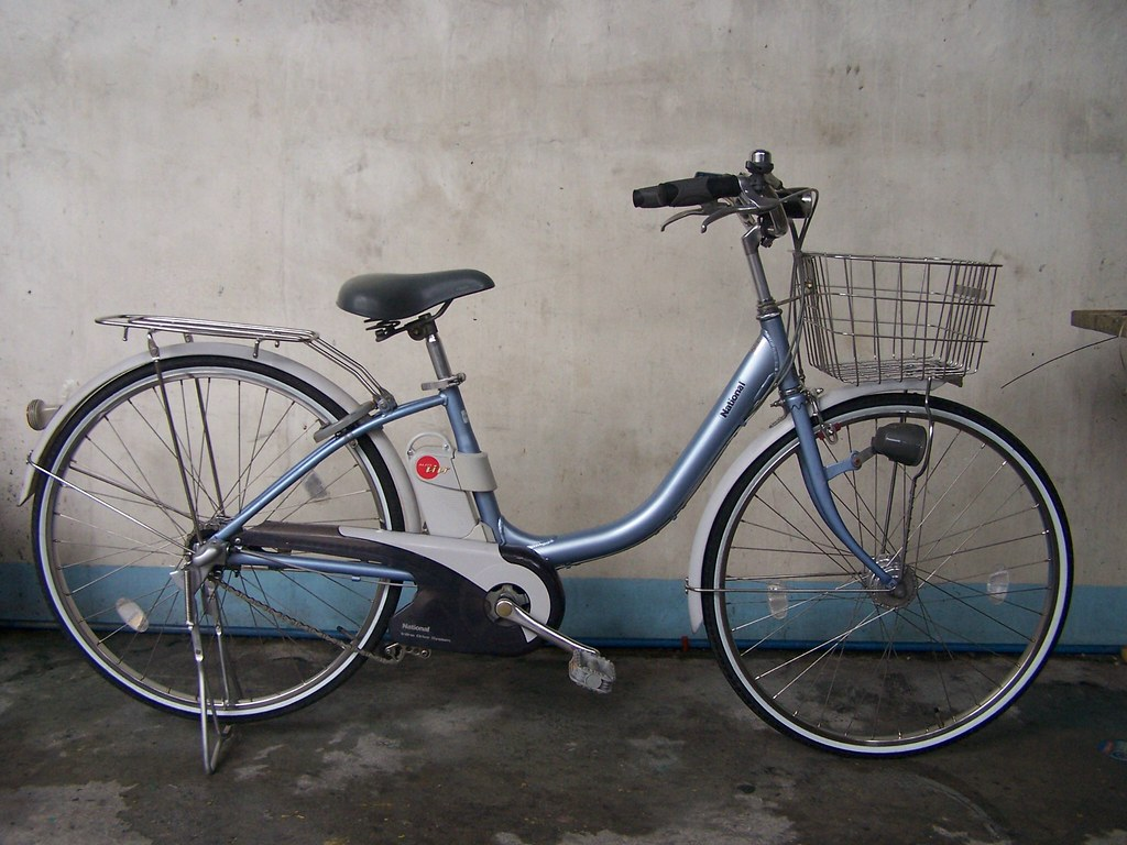 National (Al Fit)Aluminum Frame size 26 Electric Bike