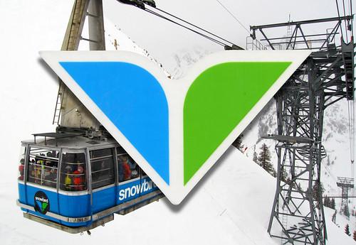 snowbird tram sticker