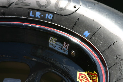 Tonys Tire sitting on pitroad. Photo Credit: ME