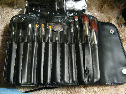 IMATS LA 2009 Haul - Naked Cosmetics Brush Set