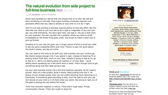 The natural evolution from side project to full-time business - (37signals)_1246221437382