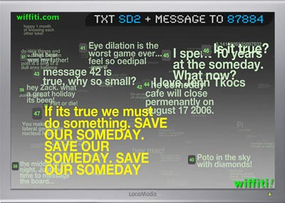 Wiffiti Save our Someday