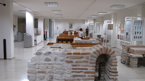 Museum in Dion, Greece