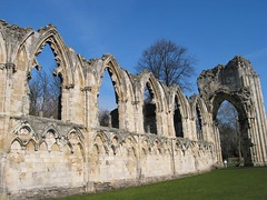 Abbey Ruins in York