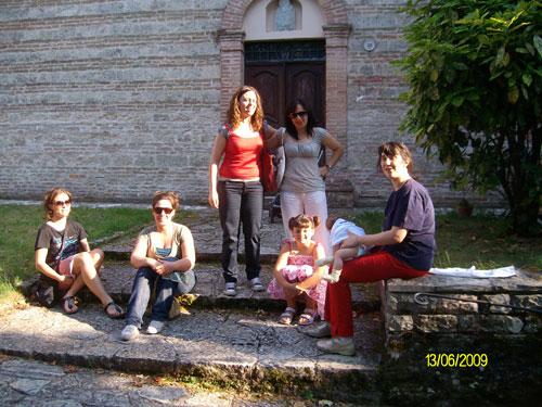 foto di gruppo - Monastero San Silvestro Fabriano