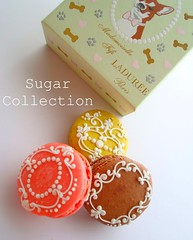 LADUREE's macarons (JILL's Sugar Collection) Tags: food foods decoration sugar icing antoinette piping picnik laduree macaroons royalicing