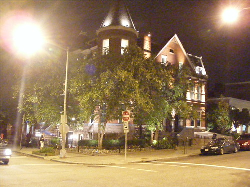 The Real World House, At Night