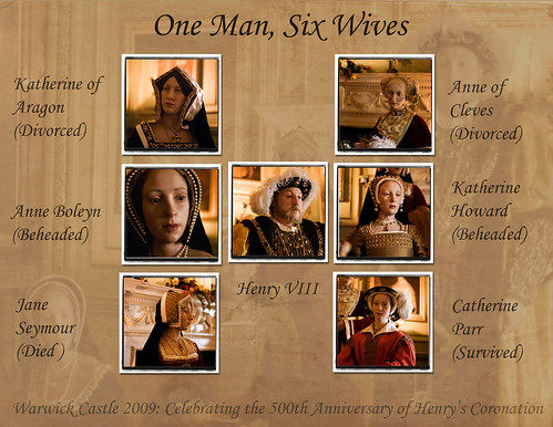 wives of king henry viii. Henry VIII and his 6 wives