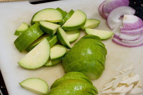 Sliced Avocado Squash
